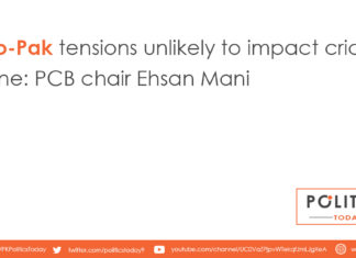 Indo-Pak tensions unlikely to impact cricket scene: PCB chair Ehsan Mani