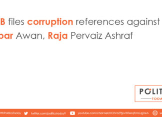 NAB files corruption references against Babar Awan, Raja Pervaiz Ashraf