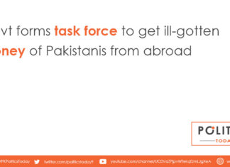 Govt forms task force to get ill-gotten money of Pakistanis from abroad