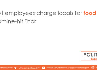 Govt employees charge locals for food aid in famine-hit Thar