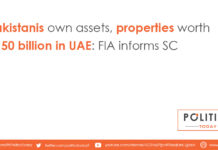 Pakistanis own assets, properties