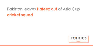 Pakistan leaves Hafeez out of Asia Cup cricket squad