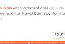 Bani Gala encroachment case: SC summons report on Rawal Dam's contamination
