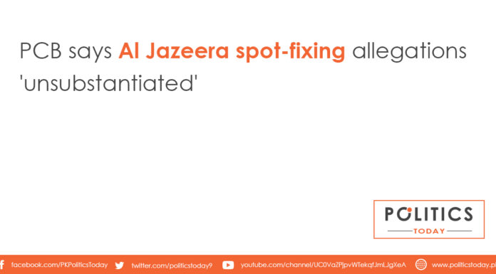 PCB says Al Jazeera spot-fixing allegations 'unsubstantiated'